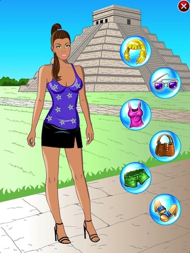 HTML5 dress up game
